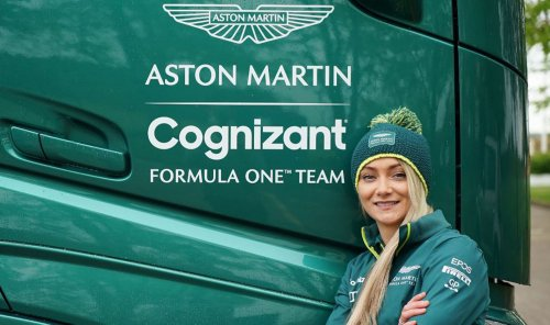 How a Stunt Driver Drifted Her Way Into Working With an F1 Team