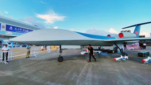 China's Big New Twin-Jet Long-Endurance Armed Combat Drone Emerges