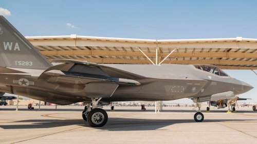 """F-35s Have Flown Their First """"Red Air"""" Missions As Dedicated Stealth Aggressors"""