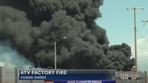 Massive Fire at Can-Am Warehouse Torches Tons of ATVs
