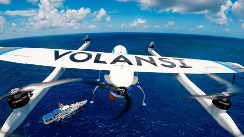 Drone Makes First Autonomous Aerial Delivery Between Two Military Vessels