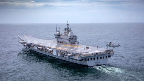 India's Indigenous Aircraft Carrier Has Gone To Sea For The First Time