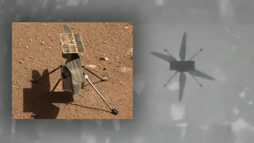One Small Leap For A Drone Helicopter On Mars, One Giant Step For Mankind