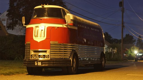 Ultra-Rare 1930s GM Futurliner Seen Street Parked in Random Small Town—and We've Got Answers