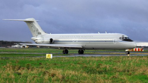 Retired Marine C-9B Jet Transport Has Gotten A Second Life As An Air Force Sensor Testbed