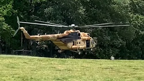 Russian-Made Mi-17 Helicopter Flown By Secretive U.S. Unit Lands In Farmer's Field