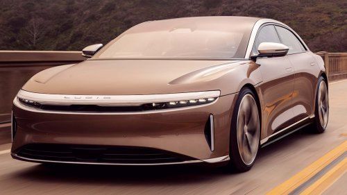 The Electric Lucid Air Officially Has 520 Miles of Range: EPA