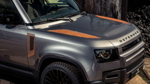 You Can Add Rusty Trim to Your New Land Rover Defender If You're Into That