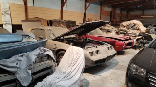 Retired Postman's Collection of 20 Pontiac Firebirds and Trans Ams Headed to Auction
