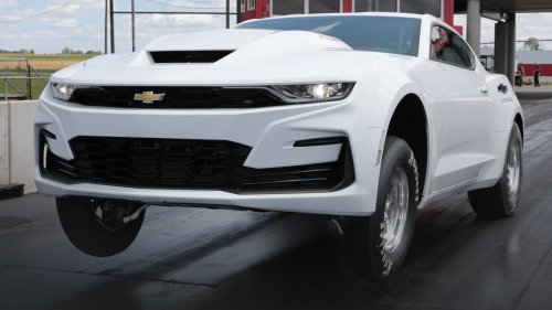 2022 Chevy COPO Camaro Unveiled With Biggest V8 From Any American Automaker