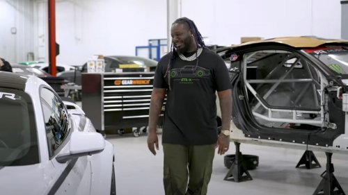 T-Pain Is in Full Drift Mode With His New Ford Mustang RTR Spec 2