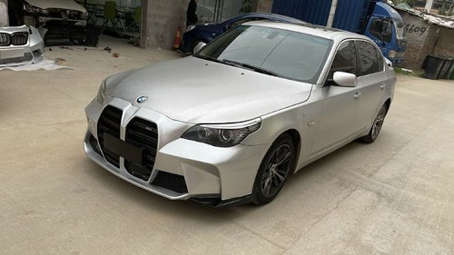 Chinese Bumper Kit Makes Your Old BMW Look Like the Eye-Searing New M3