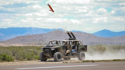 The Army Is Testing Arming Its Light Tactical Vehicles With Drones -  Flipboard