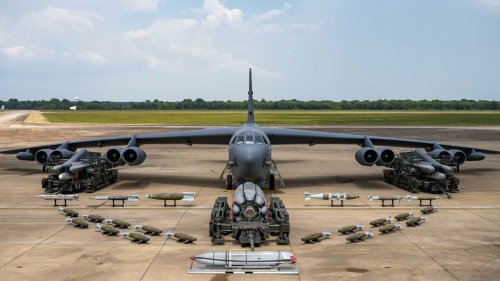 Barksdale B-52 Brandishes Its Modern Arsenal In New Loadout Photos