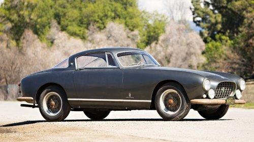 1955 Ferrari 250 Europa Custom-Ordered by Italy's Liquor Mogul Is Headed to Auction