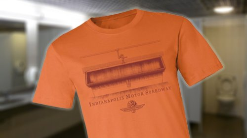 Indianapolis Motor Speedway Celebrates Its Famous Urinals With This Classy New T-Shirt