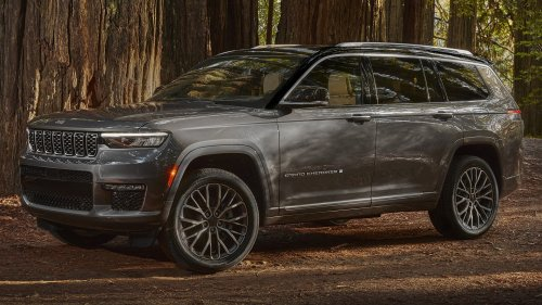 Good Luck Getting a 2022 Jeep Grand Cherokee L With Air Suspension