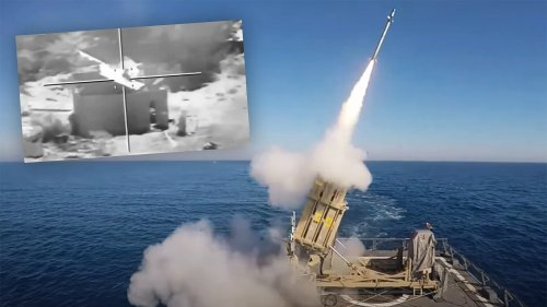 Israeli Warships Fire Missiles At Gaza While Hamas Takes Aim At Offshore Oil Platforms