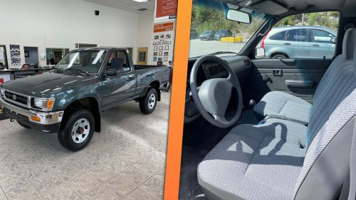 Pristine 84-Mile 1993 Toyota Pickup Barn Find Will Sell for So Much Money