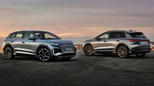 The New Audi Q4 E-Tron Crossover Is Audi's Cheapest EV by Far