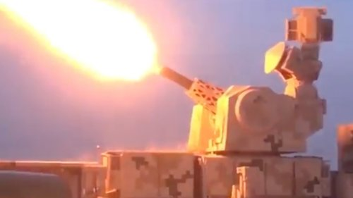 China's Massive 11-Barrel Naval Gatling Gun Has Been Adapted For Close-In Defense On Land