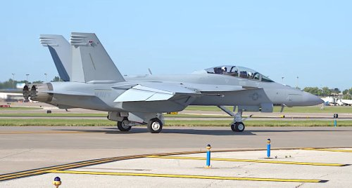 The Navy Has Received Its First Block III F/A-18 Super Hornets