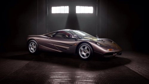 This 240-Mile McLaren F1 Could Sell for More Than $15 Million