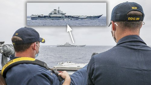 U.S. and Chinese Carrier Groups Mass In The South China Sea