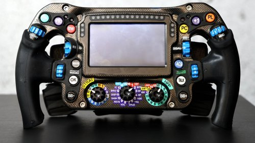 How Exactly Does an F1 Steering Wheel Work?