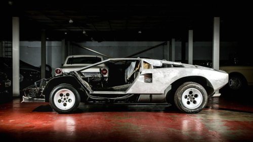 You Can Buy a Disassembled Lamborghini Countach If You're Feeling Brave