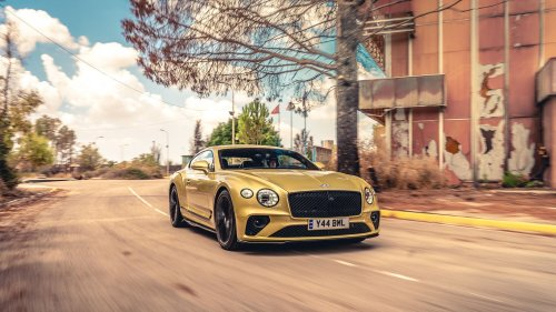 How Bentley Turned an Abandoned Military Base Into a Performance-Car Proving Ground