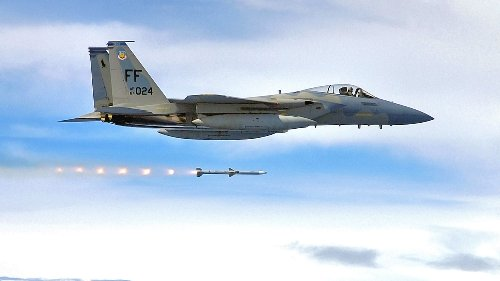 "F-15 Eagle Scores ""Longest Known"" Air-To-Air Missile Shot During U.S. Air Force Test"
