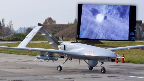 Ukraine Strikes Russian-Backed Forces Using Turkish-Made TB2 Drones For The First Time