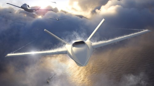 """New Unmanned Loyal Wingman Design Based On Stealthy """"Son Of Ares"""" Jet Emerges"""