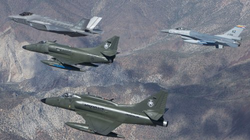 Draken Becomes The Next Red Air Private Contractor To Acquire F-16 Fighter Jets