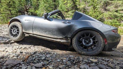 This Mazda Miata Climbed a Colorado Jeep Trail on Stock Suspension With No Spotters