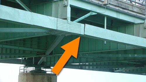 Look at the Terrifying Cracked Beam That Shut Down the Vital I-40 Bridge Indefinitely