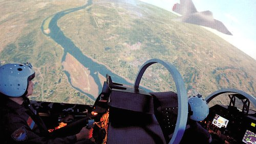 Chinese Pilots Are Also Dueling With AI Opponents In Simulated Dogfights And Losing: Report