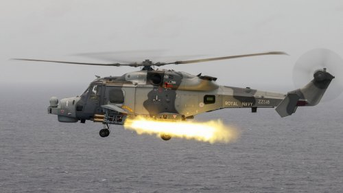 Watch A Royal Navy Wildcat Helicopter Fire Its First Operational Martlet Missile