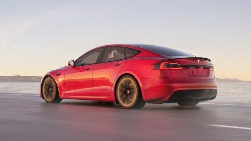 Jay Leno Confirms Tesla Model S Plaid Set A Production Car Quarter Mile Record