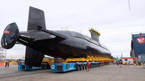 Canadian Submarine Bedeviled By Accidents For A Decade Is Finally Back In The Water