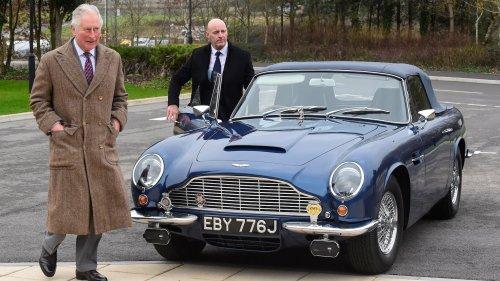 Prince Charles' Classic Aston Martin DB6 Runs on Wine and Cheese