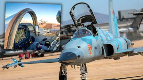 First Navy F-5 Aggressor Begins Upgrade That Will Make The Entire Fleet Far More Potent