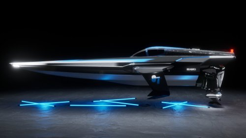 These Wild Battery-Electric Hydrofoils Are Going Racing in a New Powerboat Series