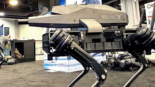 Robot Dogs Now Have Assault Rifles Mounted On Their Backs