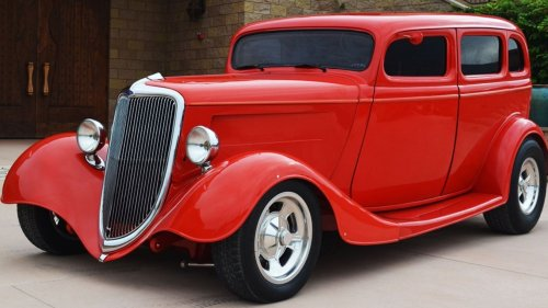 Eddie Van Halen's Old 1934 Ford Hot Rod Is For Sale