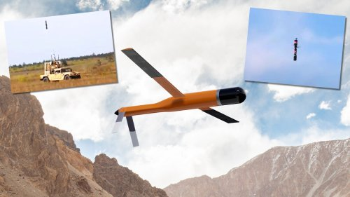 Drone Used High Power Microwaves To Knock Down Other Drones In DARPA Demo