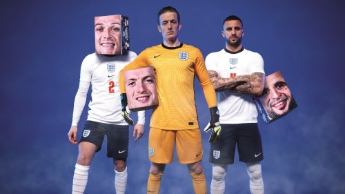 Ad of the Day: fans wear England footballers' faces with Bud Light Boxheads packaging