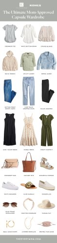 The Ultimate Mom-Approved Capsule Wardrobe (Warning: You'll Want Everything!)