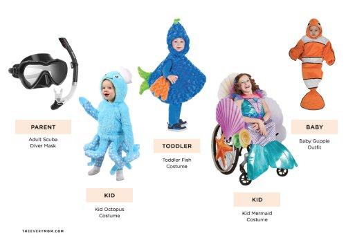 14 Cute and Creative Family Halloween Costume Ideas